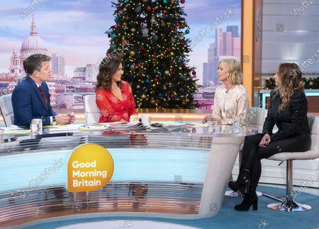 Editorial photo of 'Good Morning Britain' TV show, London, UK - 05 Dec 2019