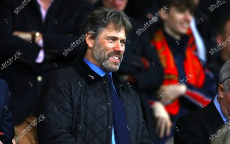 Comedian John Bishop in the stands