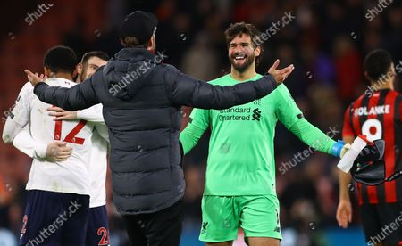 Editorial picture of Bournemouth v Liverpool, Premier League, Football, Vitality Stadium, Bournemouth, UK - 07 Dec 2019