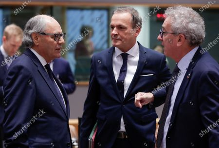 Editorial picture of EU Ecofin Finance ministers meeting in Brussels, Belgium - 05 Dec 2019