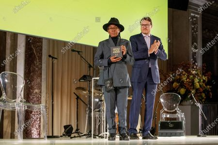 Editorial photo of Prince Claus Award Presentation, Amsterdam, Netherlands - 04 Dec 2019