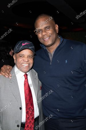 Berry Gordy and Chairman and CEO of Sony/ATV Jon Platt