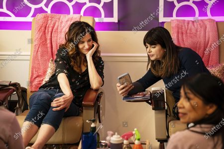 Kathryn Hahn as Eve Fletcher and Casey Wilson as Jane Rosen