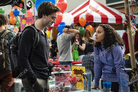 Jackson White as Brendan Fletcher and Jasmine Cephas Jones as Chloe