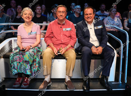 (l-r) Masterminds Isabelle Heward, Kevin Ashman and Shaun Williamson