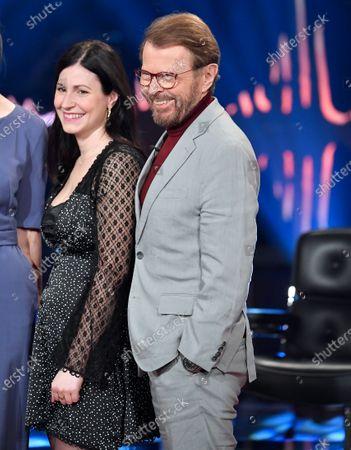 Nour El-Refai and Bjorn Ulvaeus