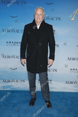 Editorial image of 'The Aeronauts' film premiere, Arrivals, New York, USA - 04 Dec 2019