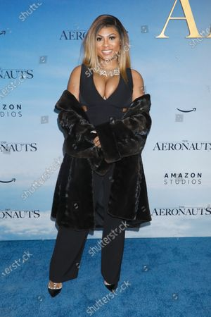 Editorial image of 'The Aeronauts' film premiere, Arrivals, New York, USA - 04 Dec 2019
