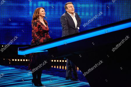 Editorial picture of 'The Chase Celebrity Special' TV show, UK - 25 Dec 2019