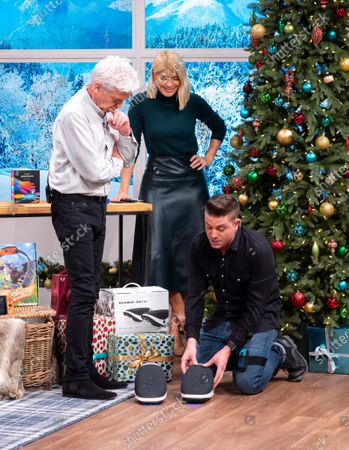 Stock Picture of Steve Wilson, Phillip Schofield and Holly Willoughby