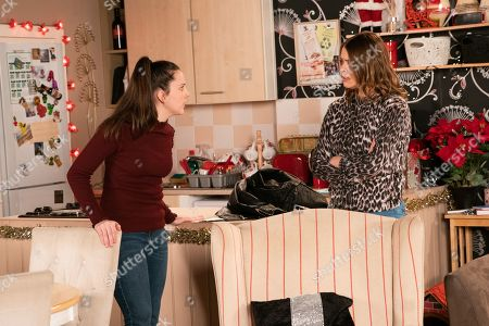 Ep 9969 Wednesday 1st January 2020 - 2nd Ep A furious Amy Barlow, as played by Elle Mulvaney, orders Tracy McDonald, as played by Kate Ford, to tell Steve the truth or she'll do it for her.