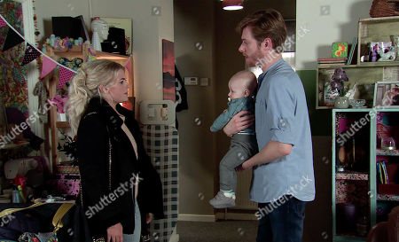 Ep 9973 Monday 6th January 2020 - 2nd Ep Bethany Platt, as played by Lucy Fallon, calls at Daniel Osboune's, as played by Rob Mallard, flat and Daniel explains how distressed Bertie was after only one jab and he couldn't bear to put him through further pain. Bethany assures him Bertie is fine.