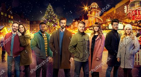 Ep 9961 & 9962 Christmas Day 2019 - Wed 25th Dec 2019 Christmas Day celebrations take a sinister turn when the Winter Wonderland attraction becomes the scene of a dramatic armed siege - will everyone escape with their lives? With David Platt's, as played by Jack P Shepherd, Shona Platt, as played by Julia Goulding, Michael Bailey, as played by Ryan Russell, Derek Milligan, as played by Craige Els, Gary Windass, as played by Mikey North, Maria Connor, as played by Samia Longchambon, Adam Barlow, as played by Sam Robertson, and Sarah Platt, as played by Tina O'Brien.