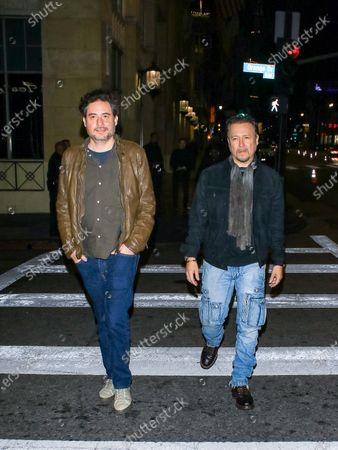 Stock Image of Carlos Gallardo and Pablo Aura