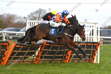 Winner of The Racing TV Profits returned to Racing'National Hunt' Novices' Hurdle Nifty Fifty ridden by Bryan Carver and trained by Jeremy Scott during Horse Racing at Wincanton Racecourse on 5th December 2019