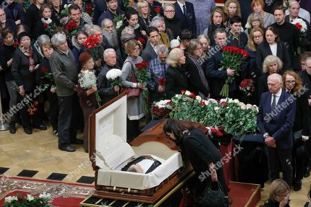 Editorial picture of Russia Mariss Jansons Funeral, St.Petersburg, Russian Federation - 05 Dec 2019