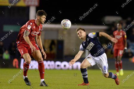 Editorial picture of Millwall v Nottingham Forest, EFL Sky Bet Championship, Football, The Den, London, UK - 06 Dec 2019