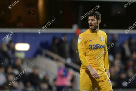 David Nugent of Preston North End in action during Sky Bet League Championship match between Queens Park Rangers and Preston North End at The Kiyan Prince Foundation Stadium in London, UK - 7th December 2019