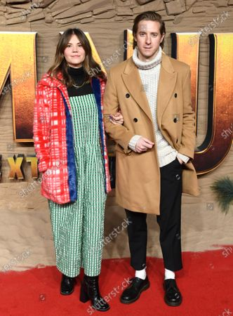 Stock Image of Ines De Clercq and Arthur Darvill