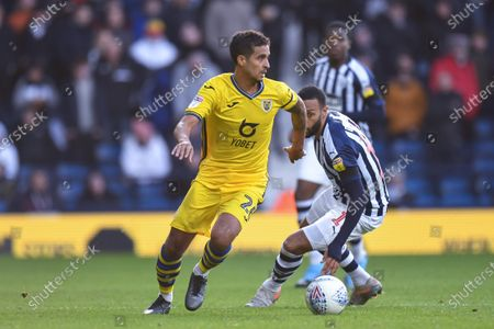8th December 2019, The Hawthorns, West Bromwich, England; Sky Bet Championship, West Bromwich Albion v Swansea City : Kyle Naughton (26) of Swansea City looks to pass the ballCredit: Gareth Dalley/News Images