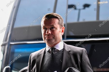 7th December 2019, Ewood Park, Blackburn, England; Sky Bet Championship, Blackburn Rovers v Derby County : Derby County goalkeeping coach, Shay Given, arrives at Ewood ParkCredit: Simon Whitehead/News Images