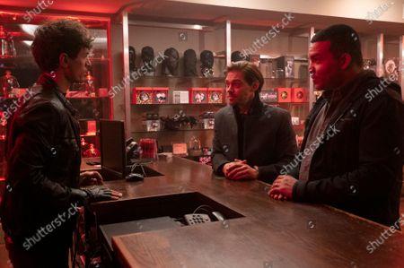 James Cusati-Moyer as Nico Stavros, Tom Payne as Malcolm Bright and Frank Harts as JT Tarmel