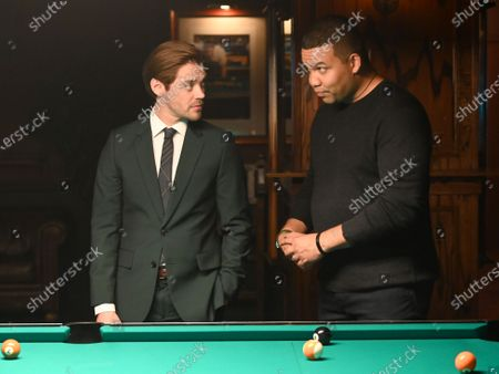 Tom Payne as Malcolm Bright and Frank Harts as JT Tarmel