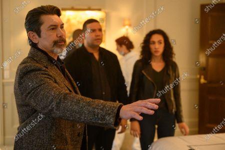 Lou Diamond Phillips as Gil Arroyo, Frank Harts as JT Tarmel and Aurora Perrineau as Dani Powell