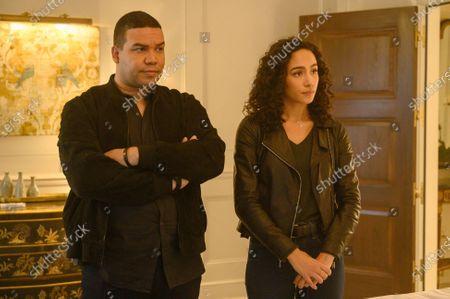 Frank Harts as JT Tarmel and Aurora Perrineau as Dani Powell