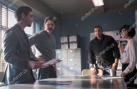 Tom Payne as Malcolm Bright, Lou Diamond Phillips as Gil Arroyo, Frank Harts as JT Tarmel and Keiko Agena as Dr. Edrisa Tanaka