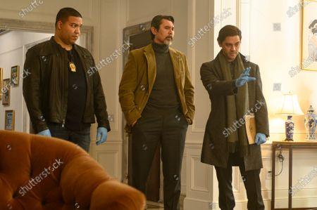 Frank Harts as JT Tarmel, Lou Diamond Phillips as Gil Arroyo and Tom Payne as Malcolm Bright