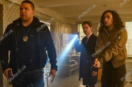 Frank Harts as JT Tarmel, Tom Payne as Malcolm Bright and Aurora Perrineau as Dani Powell