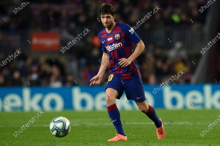 Stock Picture of Sergi Roberto of FC Barcelona