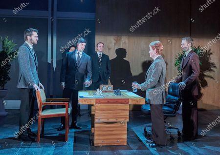 Ronan Rafferty as Boris Spassky, Beruce Khan as Iivo Nei, Buffy Davis as Fred, Robert Emms as Bobby Fischer