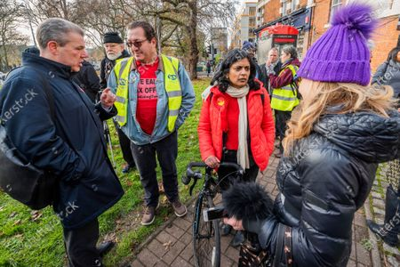 Editorial photo of PCS, HMRC Ealing Walkout, Ealing, London, UK - 05 Dec 2019
