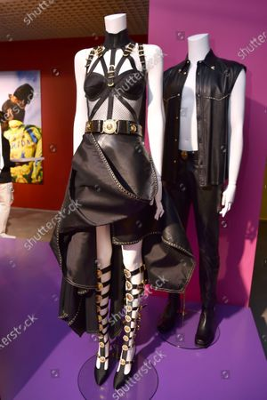 Editorial image of Versace x Sasha Bikoff Exhibition Opening, Art Basel, Miami, USA - 05 Dec 2019