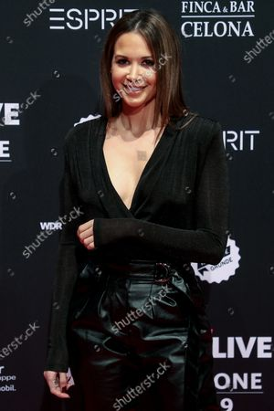 German singer-songwriter Mandy Grace Capristo poses at the 20th 1LIVE Krone radio awards ceremony at the Jahrhunderthalle in Bochum, Germany, 05 December 2019. The radio award 1LIVE Krone is given to the best national artists of the music industry.