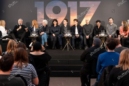 Editorial image of '1917' film press conference at the Imperial War Museum, London, UK - 05 Dec 2019