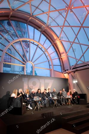 Editorial photo of '1917' film press conference at the Imperial War Museum, London, UK - 05 Dec 2019