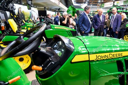 Stock Photo of Prince Laurent visits the Agribex agricultural expo