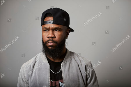 """This photo shows Grammy award-winning rapper Chamillionaire posing for a portrait in New York. A co-founder of popular underground Texas group the Color Changin' Click, is best known for his hit """"Ridin Dirty"""