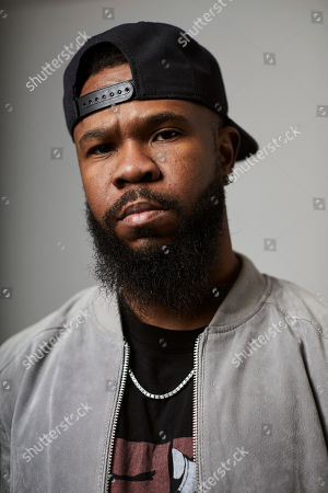 """Stock Picture of This photo shows Grammy award-winning rapper Chamillionaire posing for a portrait in New York. A co-founder of popular underground Texas group the Color Changin' Click, is best known for his hit """"Ridin Dirty"""