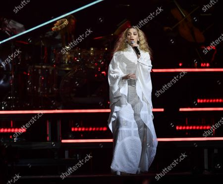 Agnes Carlsson performs on stage during the Avicii Tribute Concert For Mental Health Awareness at the Friends Arena in Stockholm, Sweden, 05 December 2019. Swedish musician, DJ, remixer and record producer Avicii (Tim Bergling) died at the age of 28 in Muscat, Oman on 20 April 2018. EPA-EFE/Erik Simander