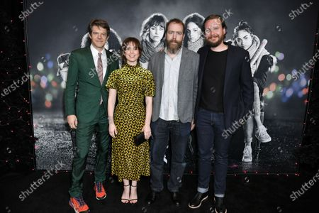 Stock Image of Jason Blum, Sophia Takal, Mark Schwartzbard and Adam Hendricks