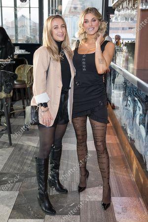 Tiffany Watson and Ashley James