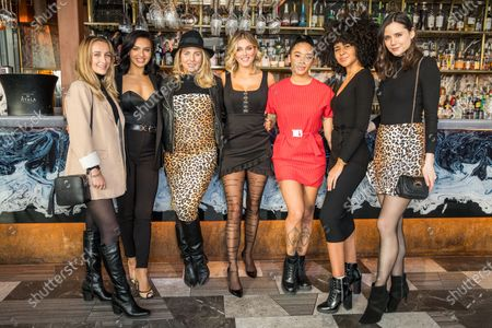 Tiffany Watson, Alexandra Cane, Lydia Bright, Yinka Bokinni, Nia Pettitt and Lilah Parsons