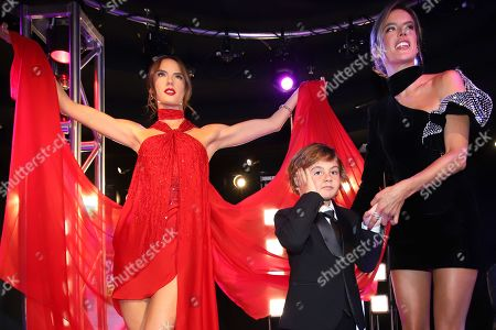 Alessandra Ambrosio and Noah Phoenix Mazur