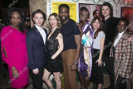 Nicola Hughes (Beverly), David Dawson (Mack), Julie Dray (Bets), Rhashan Stone (Dayton), Naana Agyei-Ampadu (Jasmine), Esther Smith (Suze), Matthew Needham (Jimbo) and Donna Banya (Keisha)