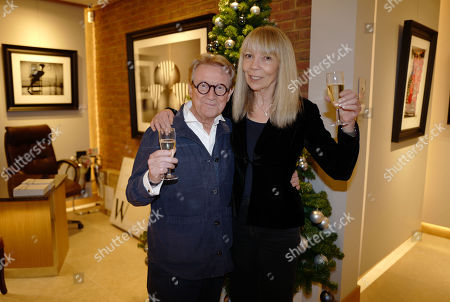 John Swannell and Penelope Tree