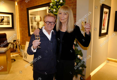 Stock Photo of John Swannell and Penelope Tree